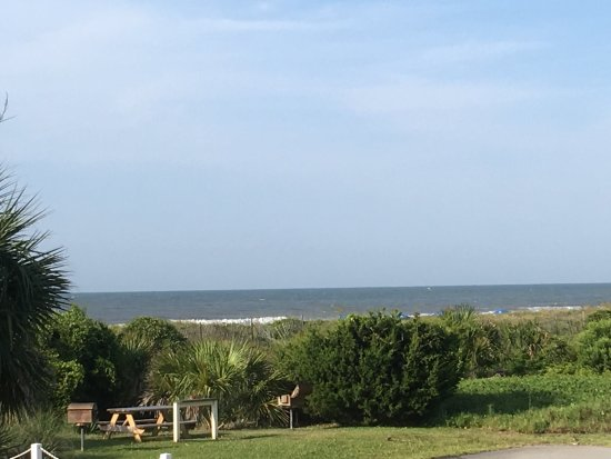 Sea Cabins Oceanside Villas : View from 105 A