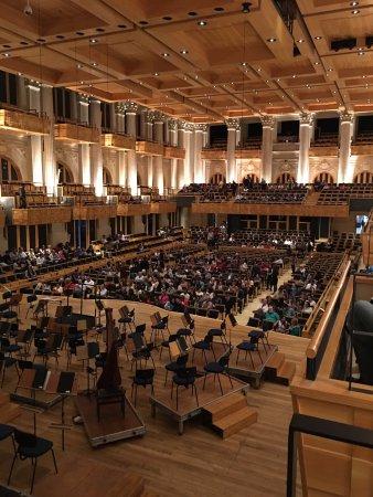 Sala São Paulo: o palco e a platéia