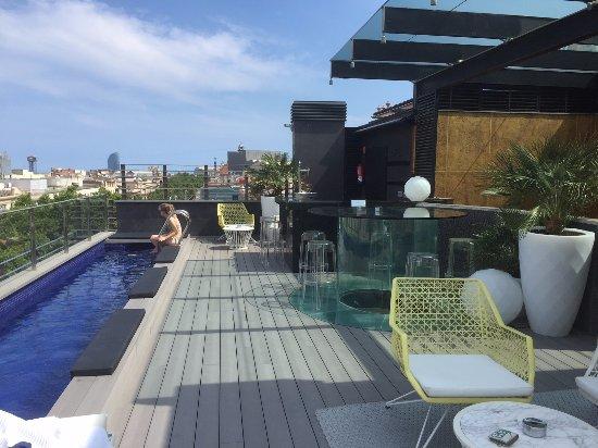 Hotel Bagues: Rooftop Terrace