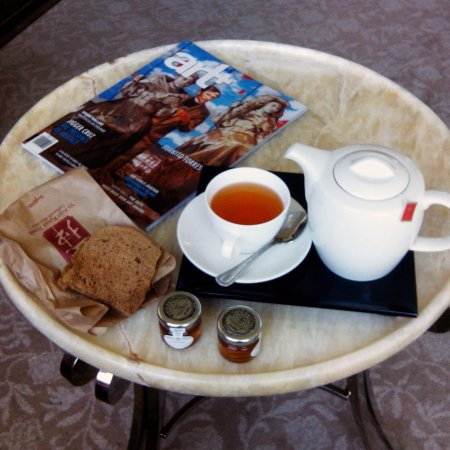 The St. Regis Singapore: Order from a selection of TWG teas to be sent to your room any time of the day or night