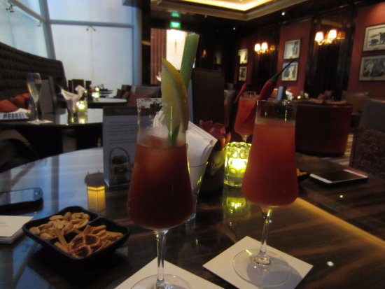 The St. Regis Singapore: make sure to try a bloody mary when in St. Regis