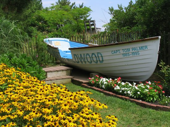 Hereford Inlet Lighthouse: Great photo ops in all parts of the garden