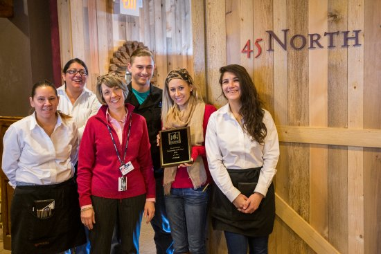 "Carrabassett Valley, ME: Named ""Restaurant Of The Year"" in 2016"