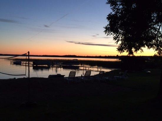 Hines, Μινεσότα: Black Duck Lake Sunset