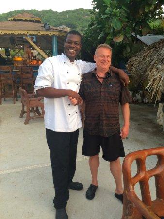 The Sky Beach Bar & Restaurant: Chef Andre