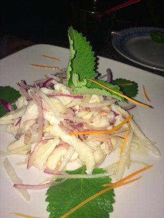 The Sky Beach Bar & Restaurant: Conch salad