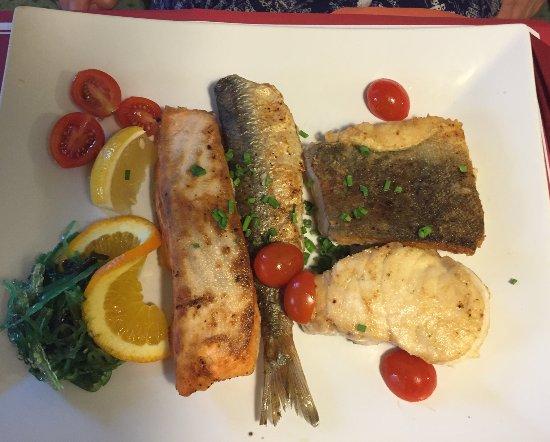 Restaurant Lotsenhus: Fischplatte