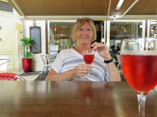 Restaurant L'Envers: Lekker koele rose