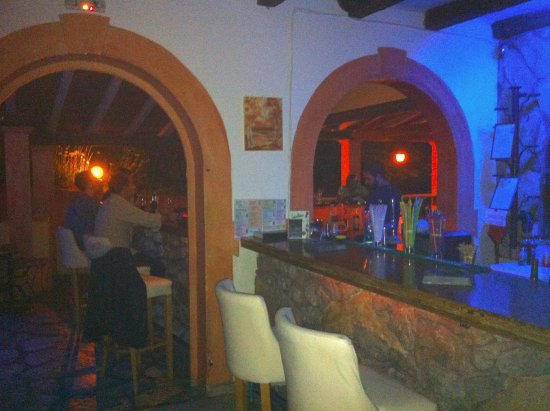 Liapades, Greece: Inside Medusa Bar
