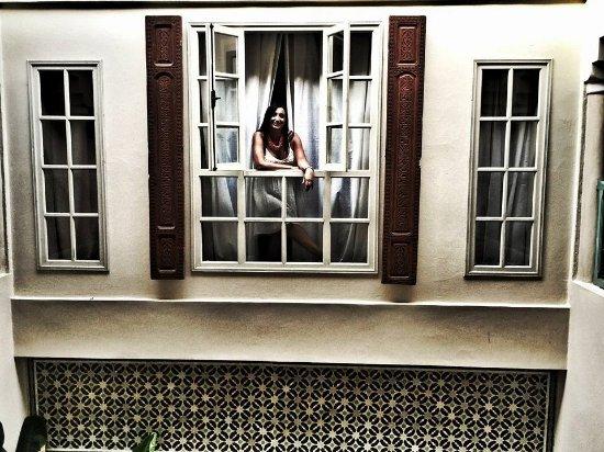 Riad Abracadabra: balcón de la habitación