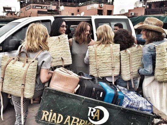 Riad Abracadabra: De vuelta con las compras