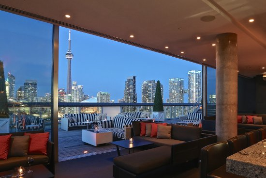 Thompson Toronto - A Thompson Hotel: Rooftop Lounge