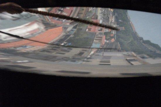 Camera Obscura: The screen.