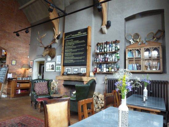 Malpas, UK: Inside the restaurant