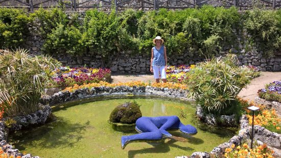 In Rufolo Gardens Ravello Italy Picture Of Giardini Di