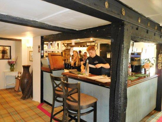 The Pheasant Inn & Restaurant: The bar