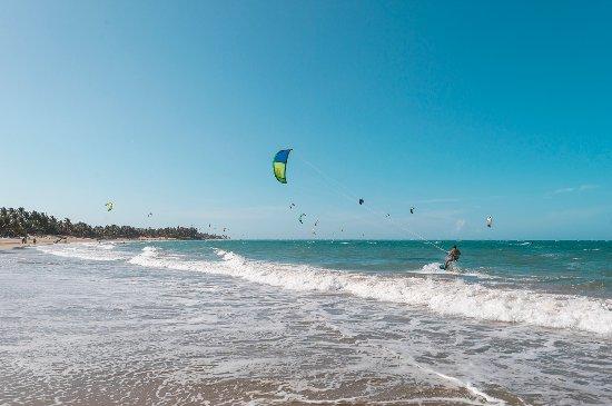 Puerto Plata, Dominican Republic: Kite boarding in Cabarete