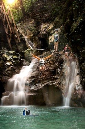 Puerto Plata, Dominican Republic: 27 Saltos de Damajagua