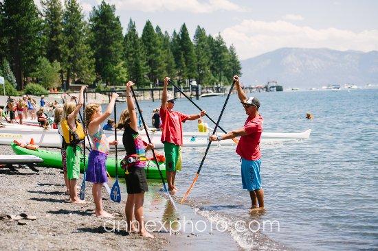 Carnelian Bay, แคลิฟอร์เนีย: Junior Watermans Landing Summer Camps