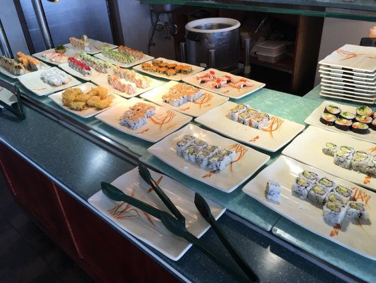 Wyoming, MI: A simple Asian buffet, but a surprise sushi buffet too.