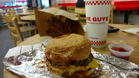Five Guys in Montreal
