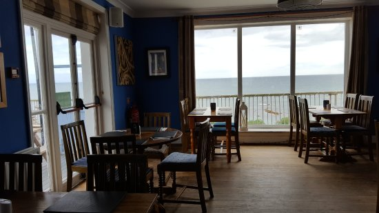The Inn on the Shore: View from the dining room