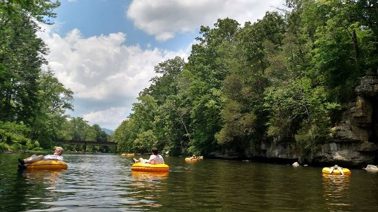 Townsend, TN: Love to Float