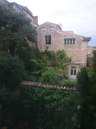 Le Barroux, France: View from the Taxco room