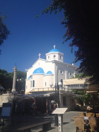 one of the many churches in Kos.