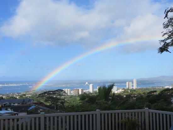 Rainbow at the Rainbow Inn