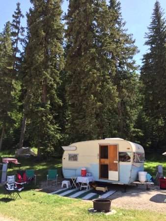 Hidden Valley Campground: Our campsite