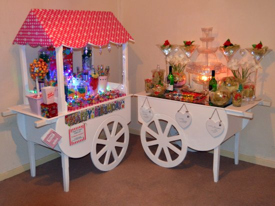 New Mills Candy Carts & Candy