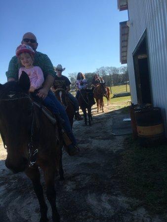 Pelham, GA: Family trail rides
