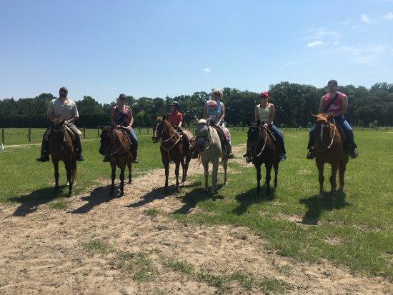 Pelham, Georgien: Family trail rides