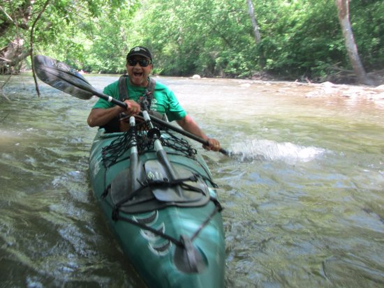 Sharpsburg, MD: A bit of whitewater fun on the Antietam Creek... with Mr Mike of River & Trail Outfitters