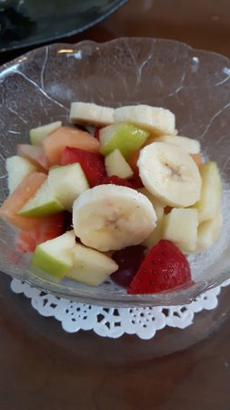 The Colonel's IN Bed and Breakfast: Fresh Fruit Cup