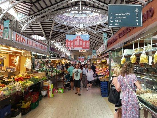 Mercato Centrale di Valencia - Bild von Central Market (Mercado Central), Val...