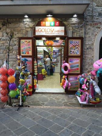 Acciaroli, Italie : riGolosamente caramelle