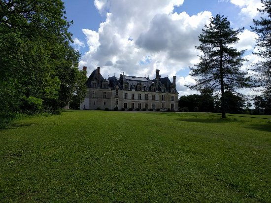 Cellettes, França: Blick auf das Schloss