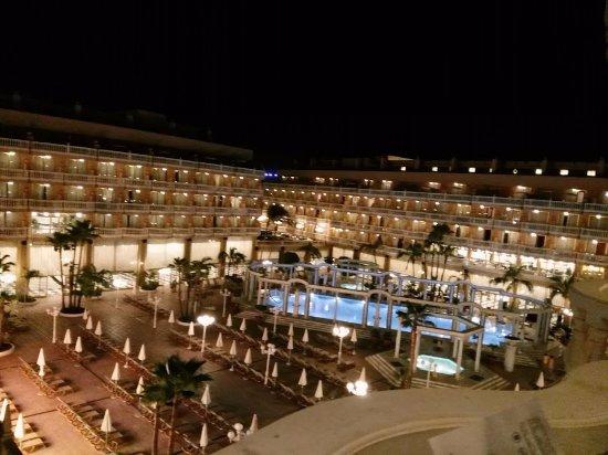 Cleopatra Palace Hotel: vista espectacular
