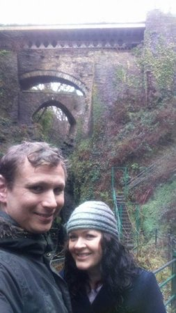 Devil's Bridge (Pontarfynach), UK: Here we are at Wales's number one Devil themed bridge over a waterfall.