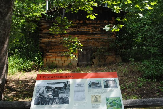 Ridgeway, VA: The Tobacco Barn at the Start of the Cliff Jones Trail