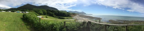 Aberafon, UK: One of the best campsites we have been two. Lots of open space, big pitches and children's play