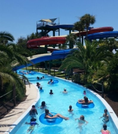 Enjoying the lazy river - Picture of Summer Waves Water Park ...