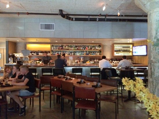 Kitchen Factory : The Factory Kitchen: Factory Kitchen Bar -- Viewed from our table