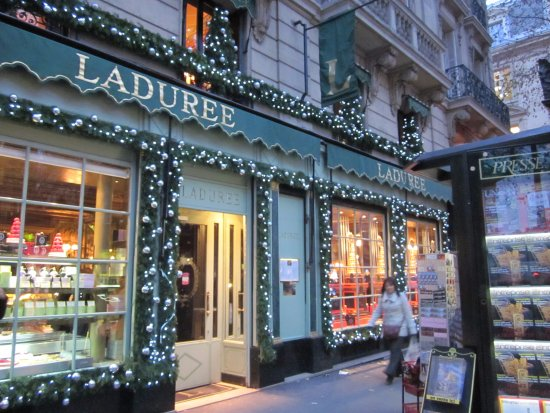 laduree at christmas time picture of laduree paris