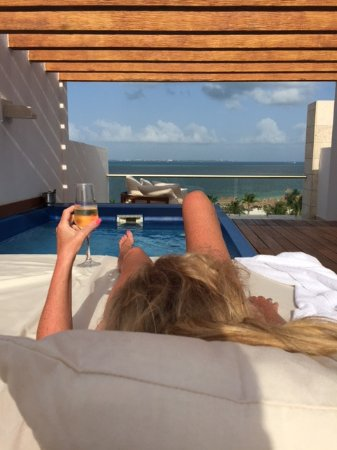 Excellence Playa Mujeres: Afternoons on the Rooftop are the BEST!!! 8464