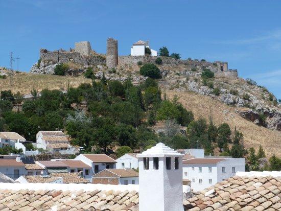 Carcabuey, Spanyol: uitzicht op het kasteel