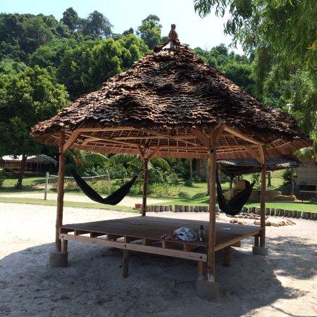 Telunas Resorts - Telunas Beach Resort: Great reading spot