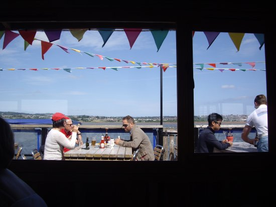 River Exe Cafe: View from inside the restaurant.